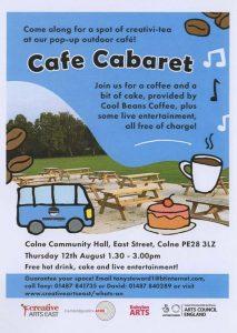 Cafe Cabaret 12th August 2021
