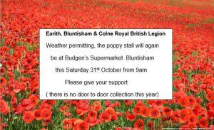 31st october rbl poppy appeal 1