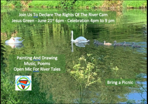 21st june join us to declare the rights of the rive cam cambs acre