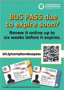 Is your Bus Pass due to expire soon